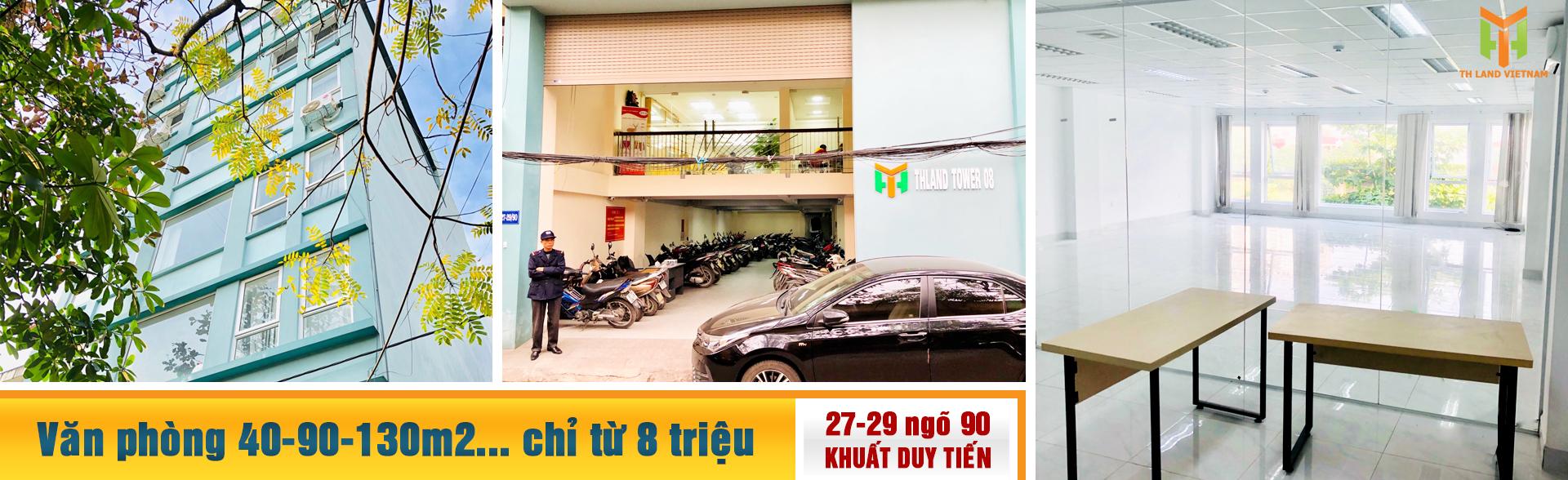 Văn phòng cho thuê 27-29 ngõ 90 Khuất Duy Tiến, Thanh Xuân